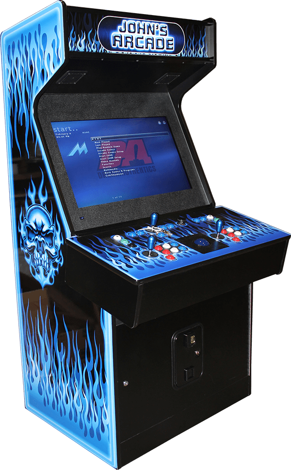 Mame Arcade Cabinet - Excalibur-Extreme-1