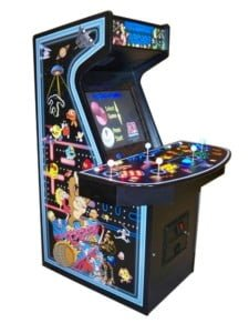 Arcade Machines New Ultra Quad lighted everything machine