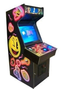 Arcade Machines excalibur neon glowing buttons game