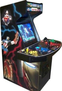 Arcade Machines ultra quad superhero Alcozer machine