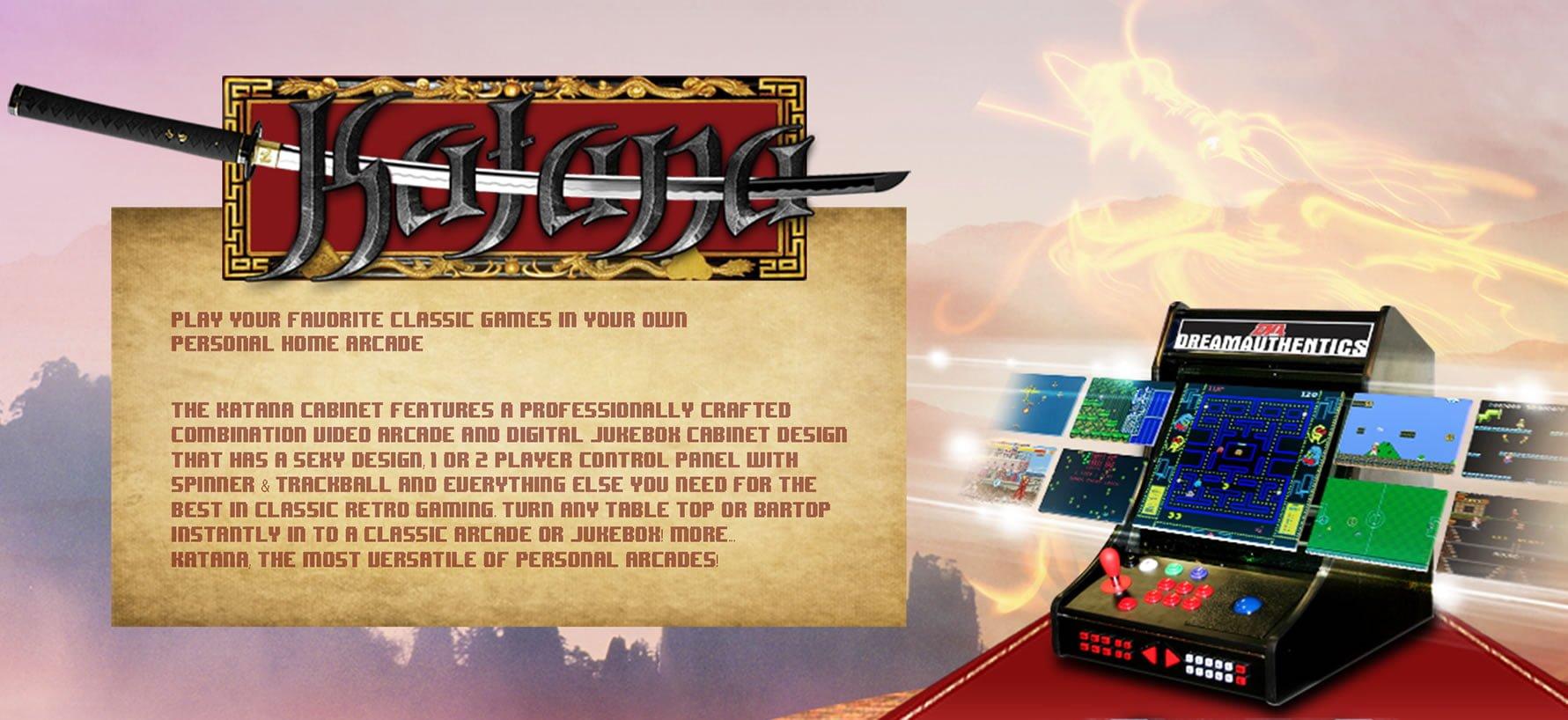 Arcade game machines - Katana-Panel