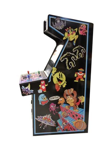 Arcade Machines Arcade Classics CAB side