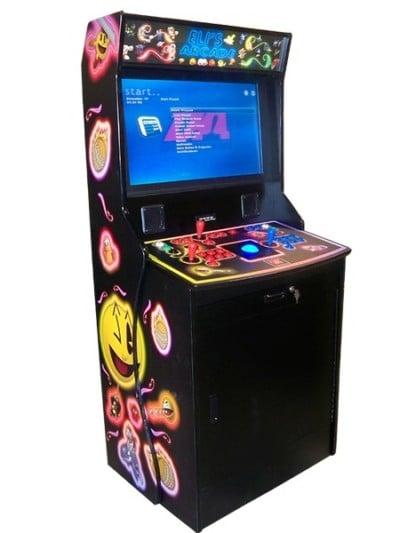 Arcade Machines Kiocase Arcade Classics Black machine