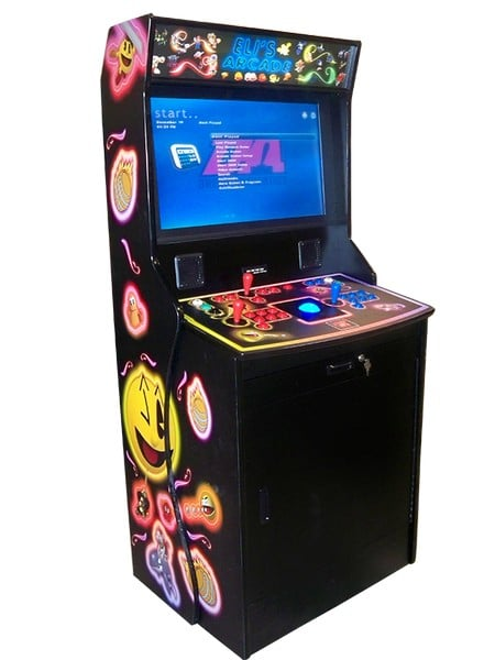 Arcade Machines Kiocase Arcade Classics Black machine