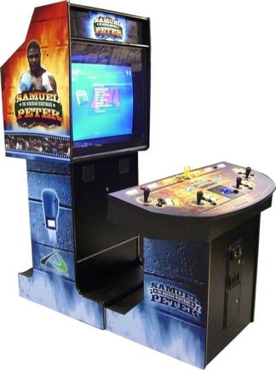 Arcade game machines SamPeterSide