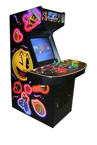 Arcade Machines arcadeclassicsbigpacmanCAB