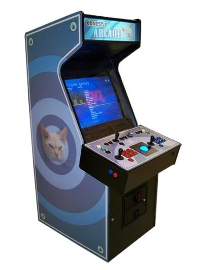Arcade Machines blue kitty machine