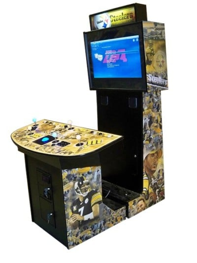 Arcade game machines steelers game
