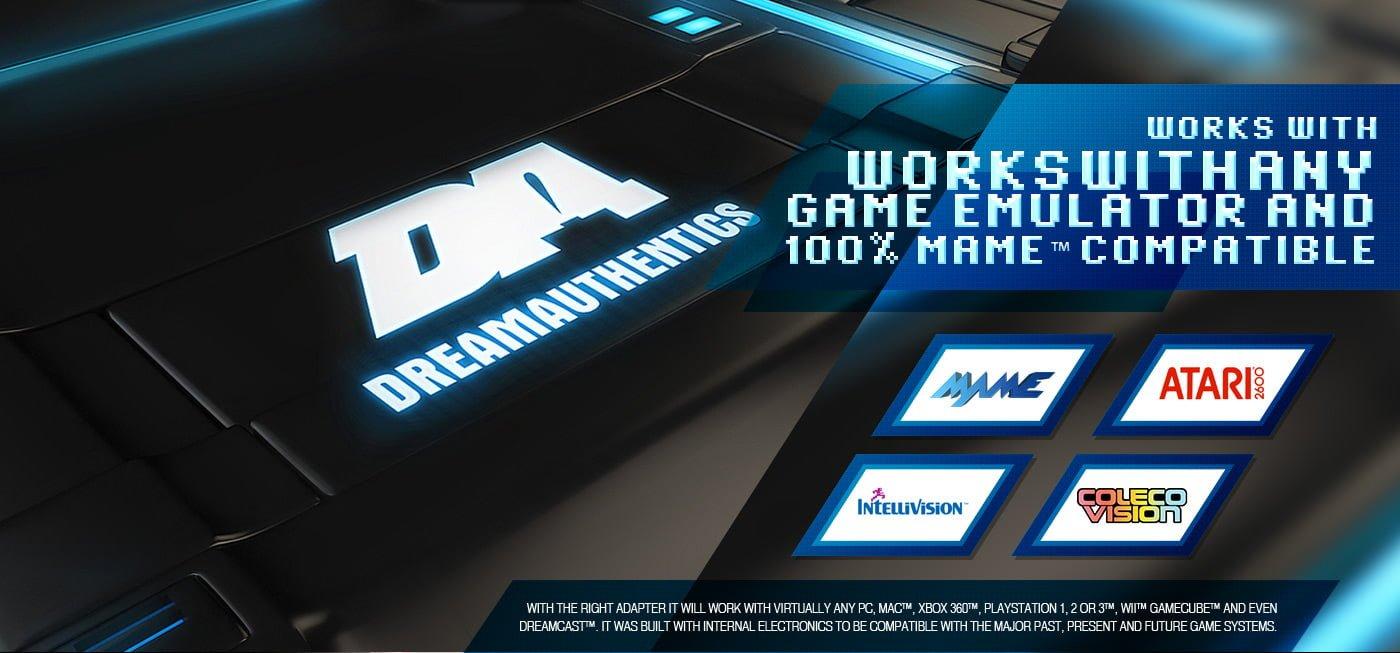 DreamAuthentics MAME Arcade Cabinet