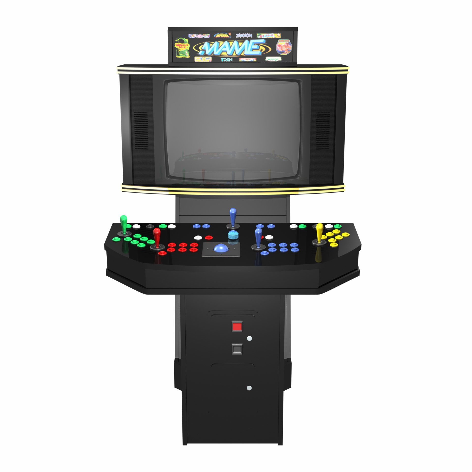 Congratulations on purchasing a MAME Cabinet