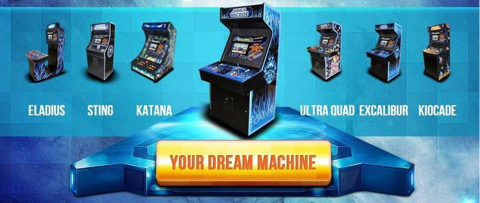 Arcade game machines Dream Machne