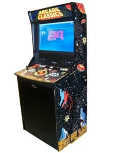 Arcade game machines - Kiocade Space Invaders machine