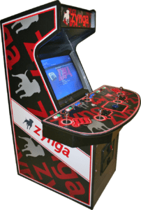 Arcade Machines Zynga Quad