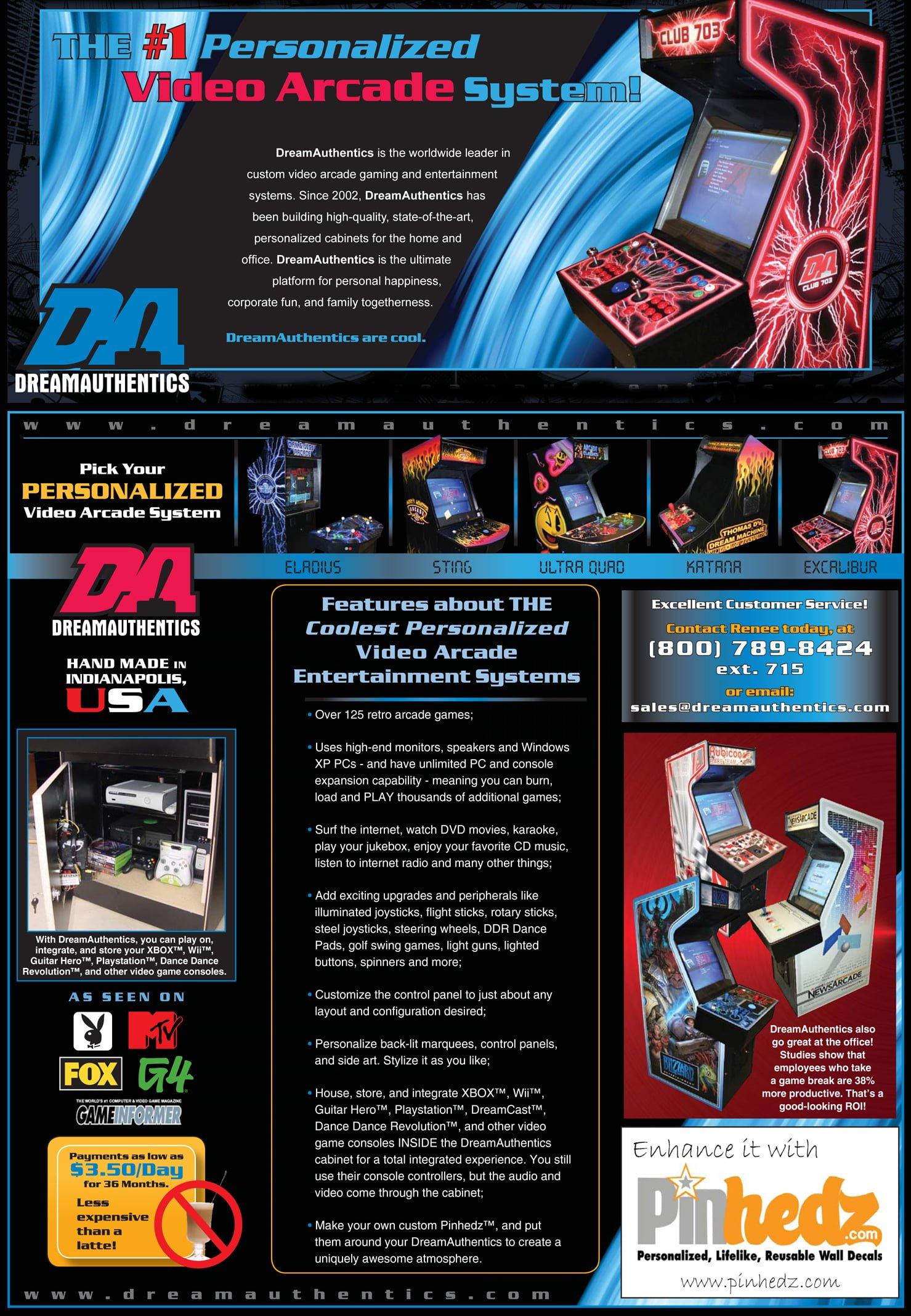 Arcade Games - dreamauthentics-mailer