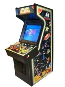 Arcade Machines excalibur space invaders game