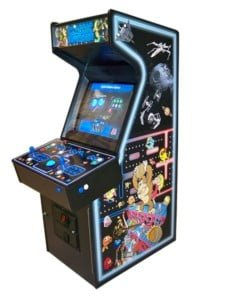 Arcade Machines excalibur space invaders top file machine