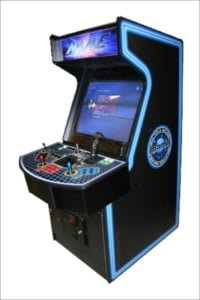 Arcade game machines stingoutline
