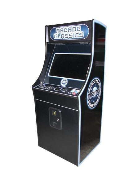 Arcade game machines stingproblackCAB