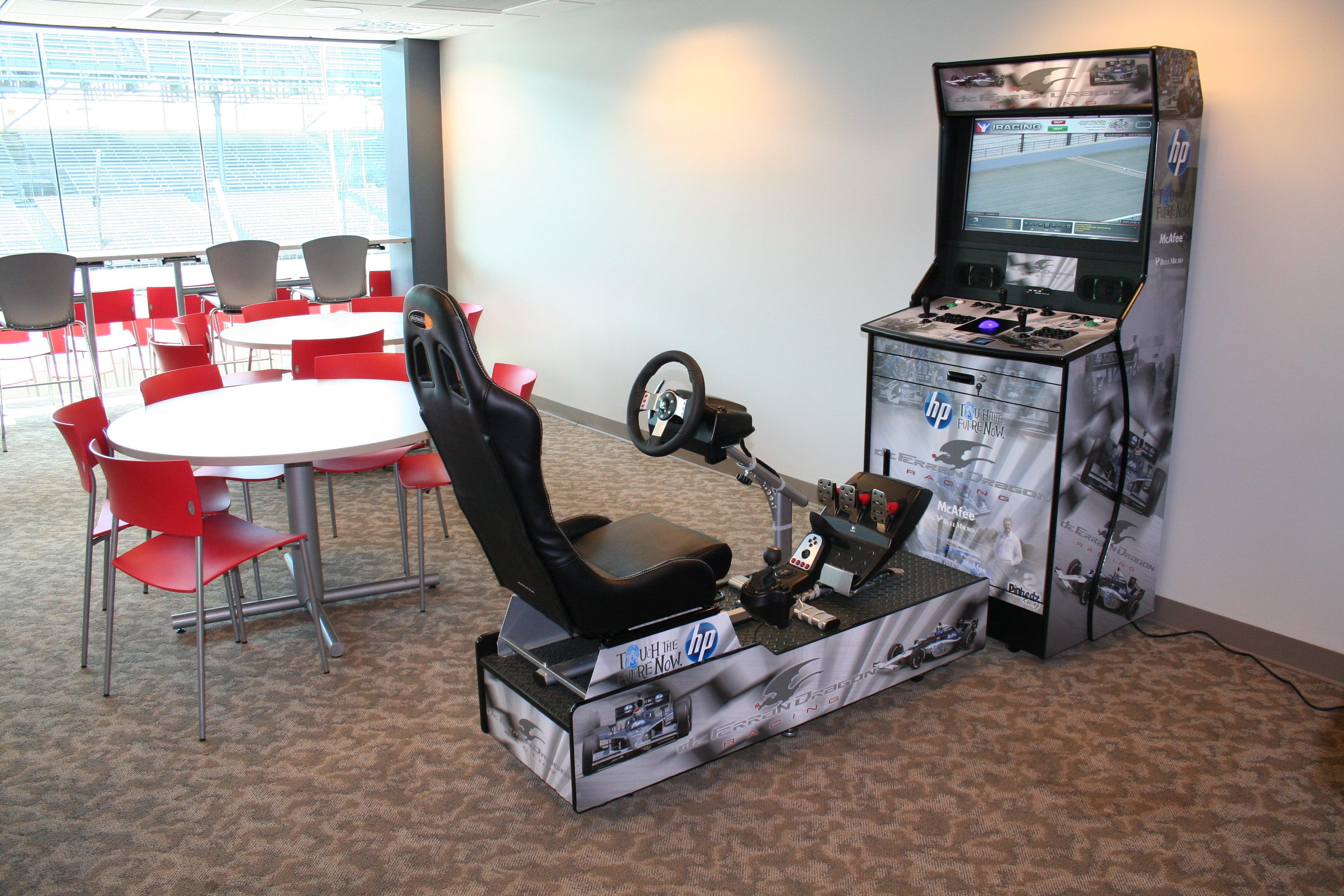 Bon Home Arcade Racing Cabinet 5