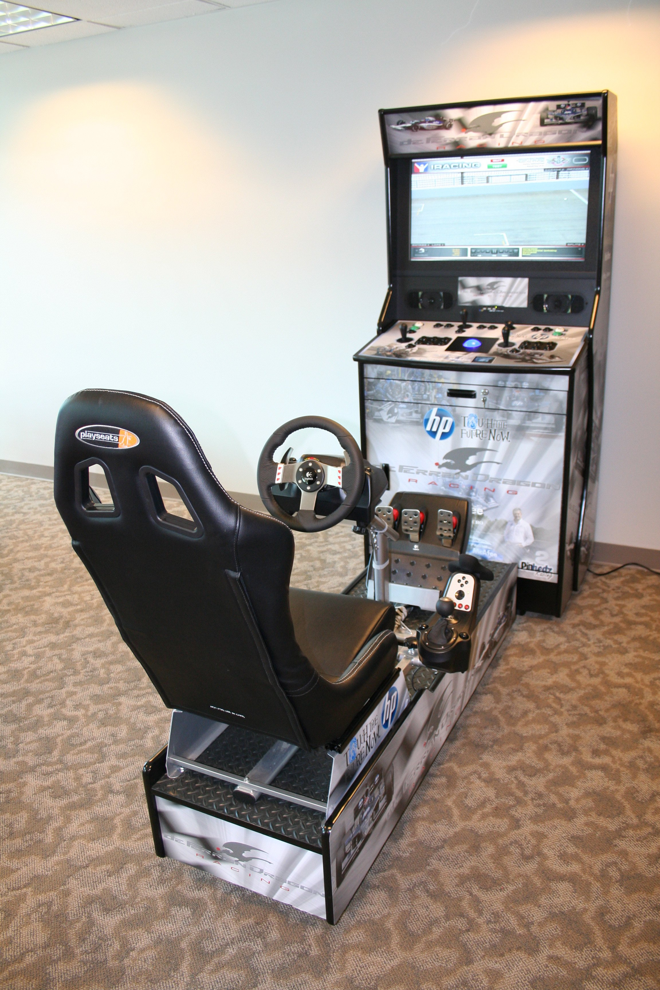 Home Arcade Racing Cabinet