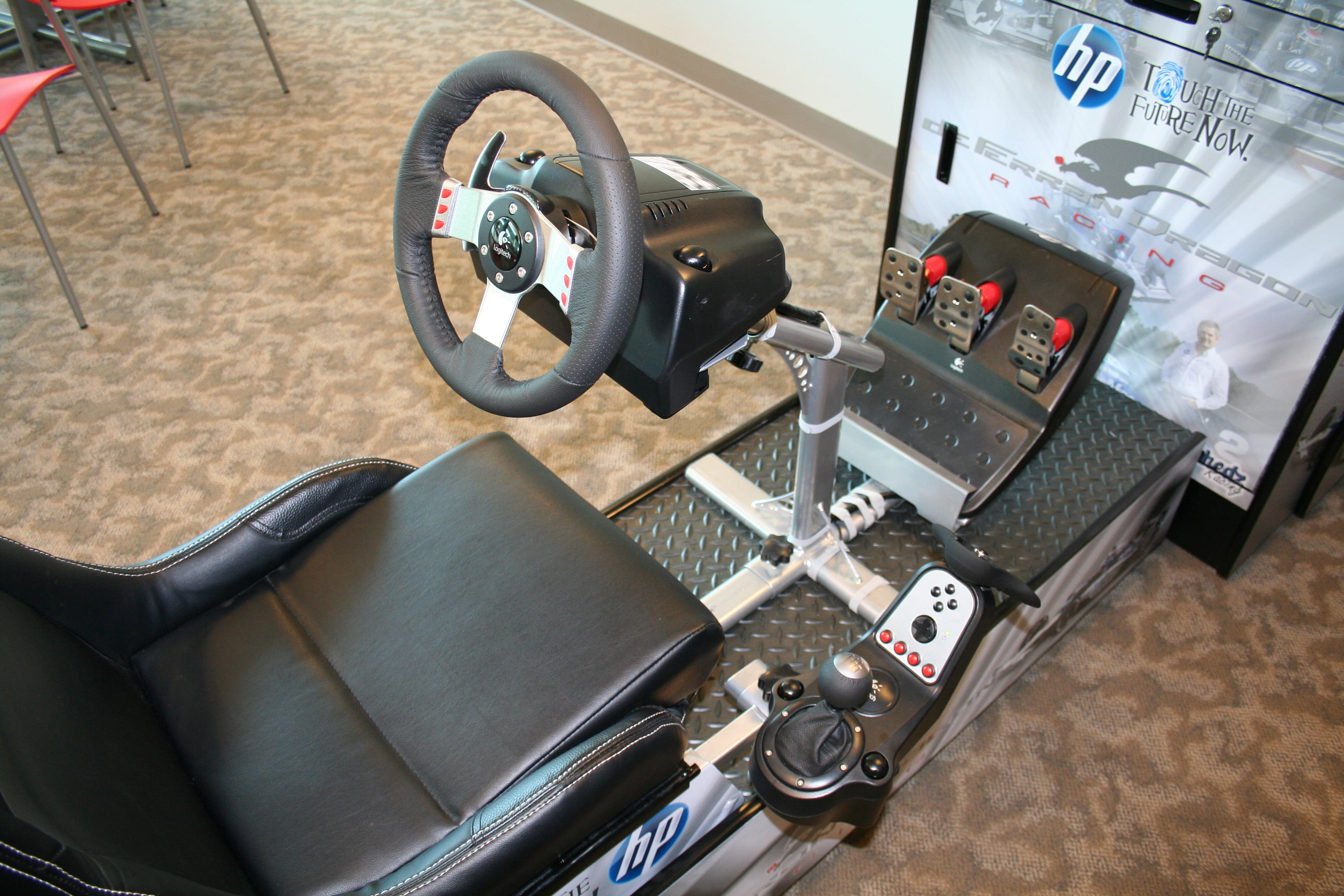 Home Arcade Racing Cabinet 1