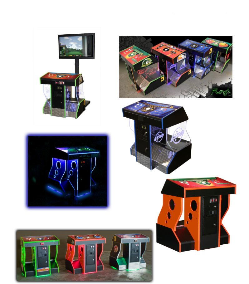 Home Arcade Pedestal