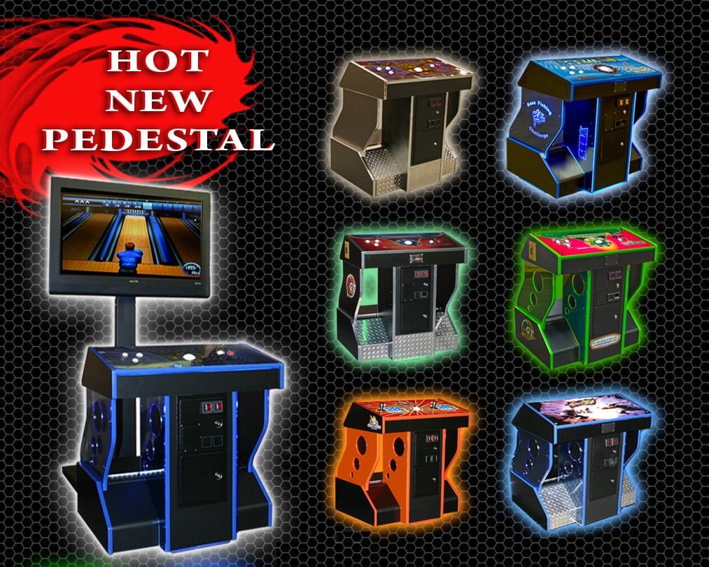 Arcade Pedestal Custom